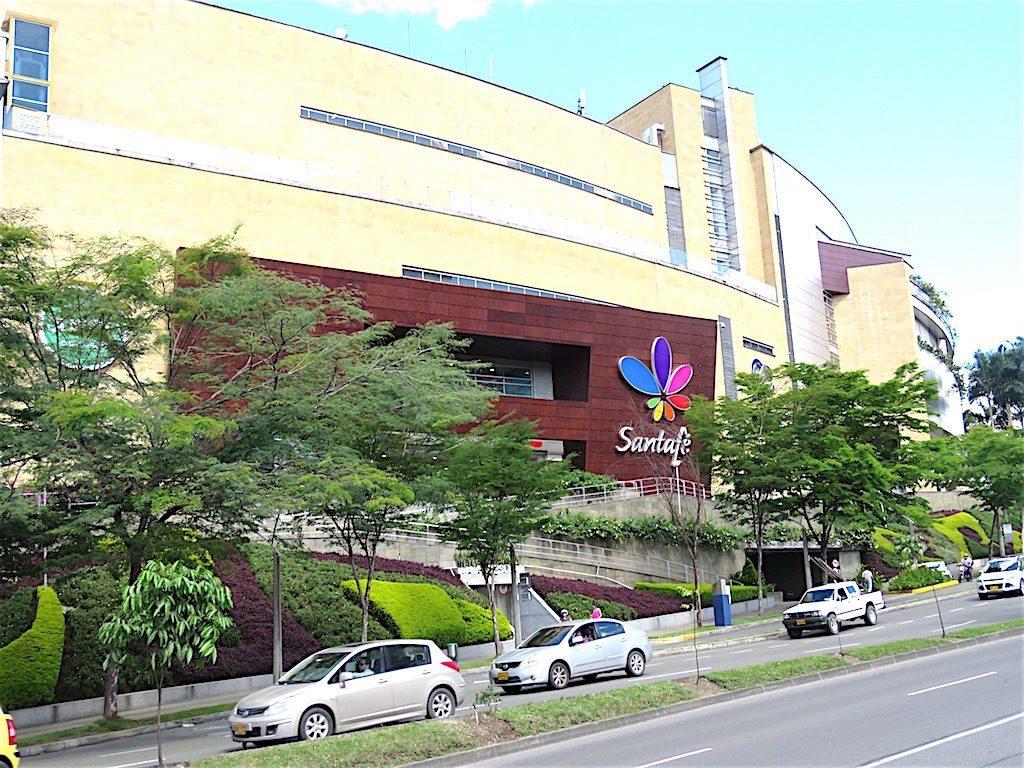 Santafé mall in Medellín