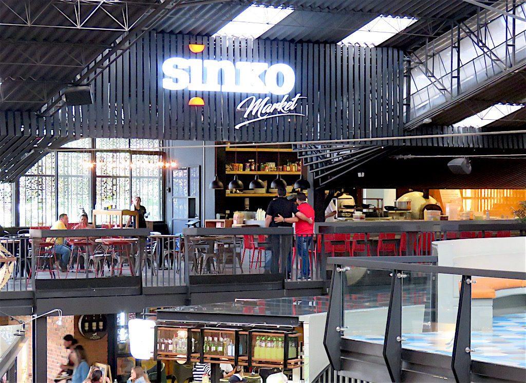 Sinko Market on second floor at Mercado Del Rio