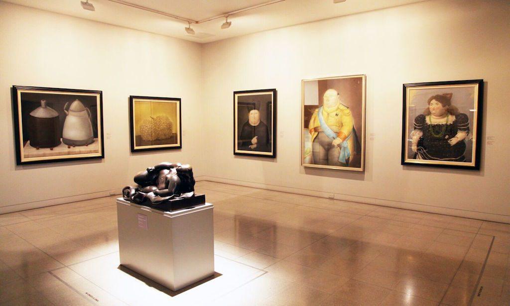 Inside Museo de Antioquia, photo by Jenny Bojinova