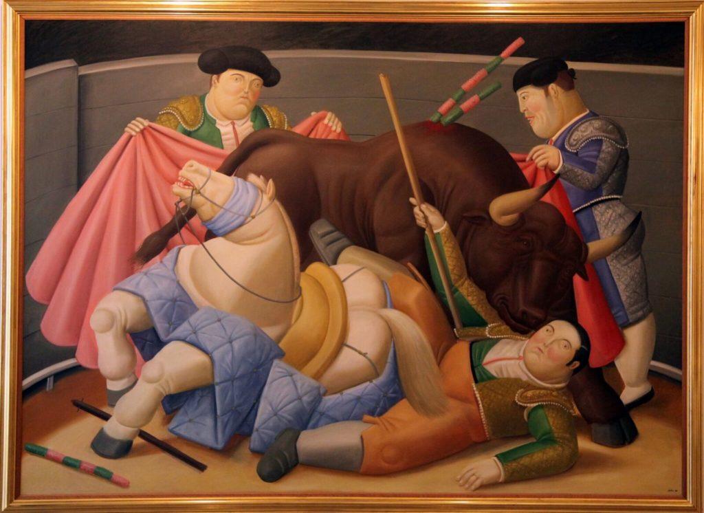The Quita, 1988 by Fernando Botero, photo by Jenny Bojinova