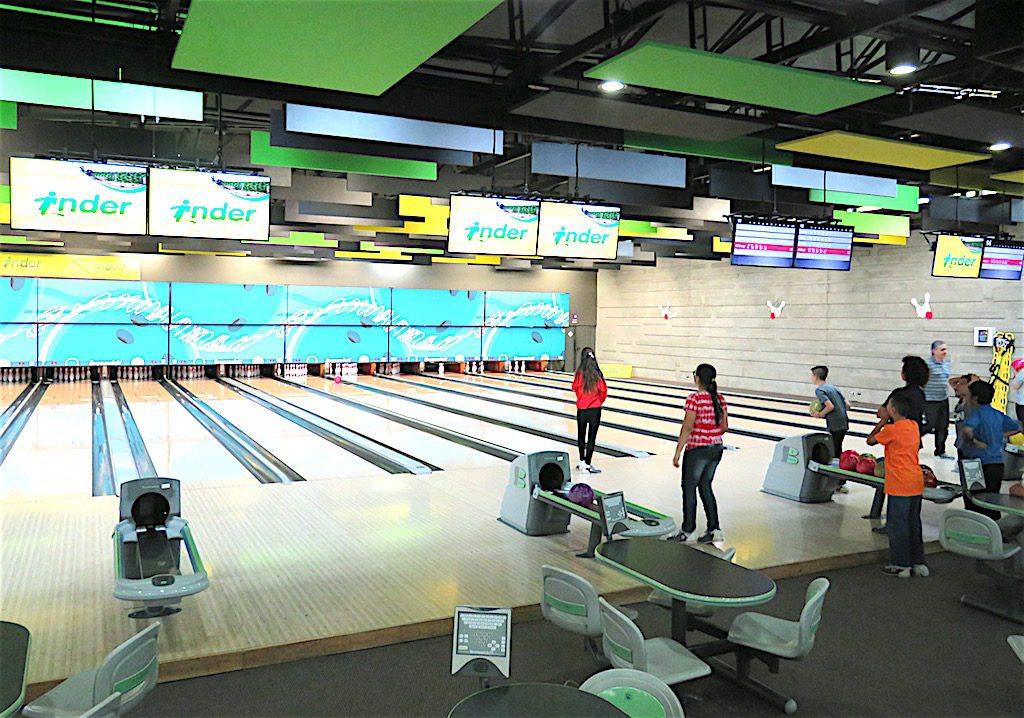 Bowling at Bolera Suramericana