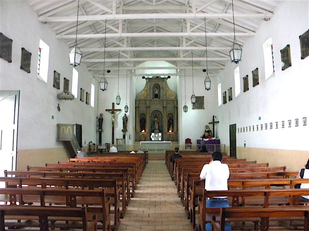Inside Hato Viejo Chapel