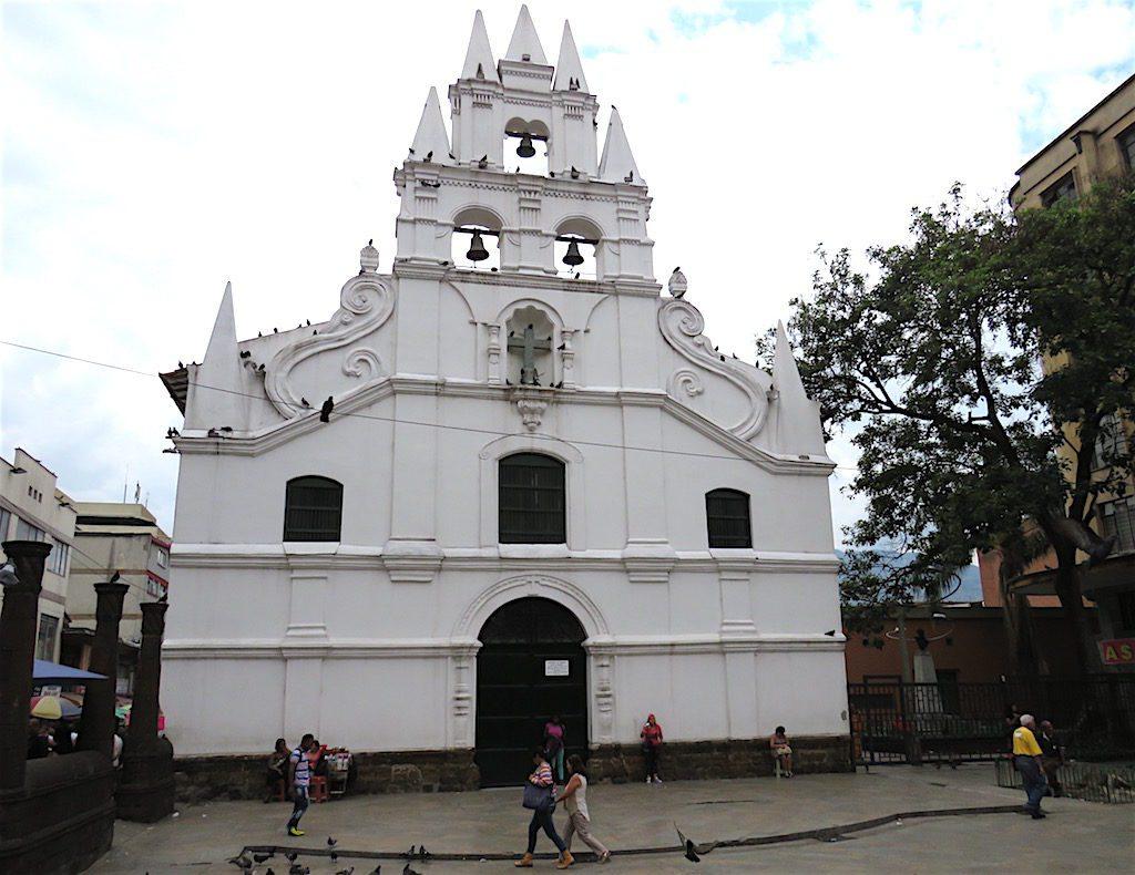 Iglesia de la Veracruz in El Centro, Medellín