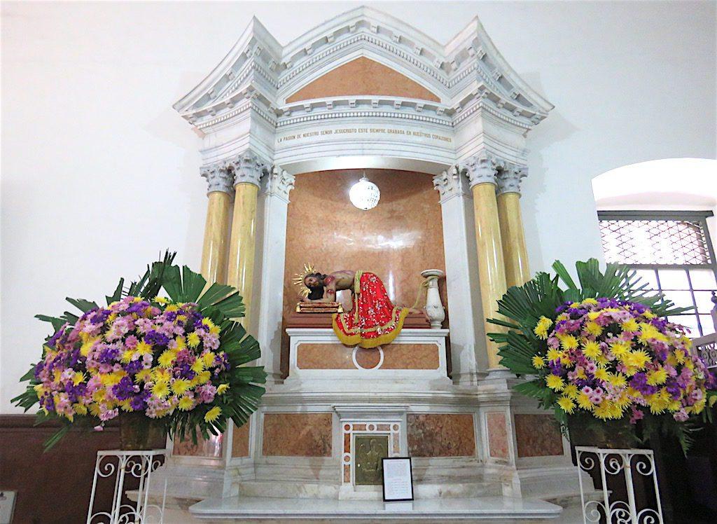 Inside Iglesia de La Candelaria