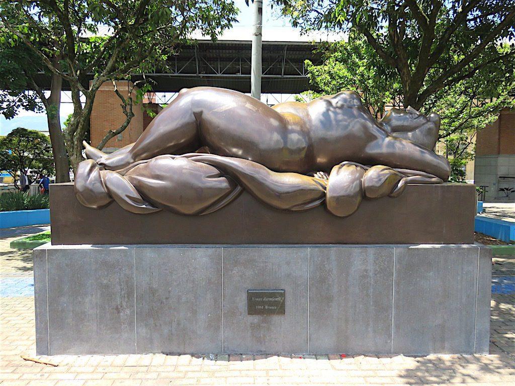 Venus durmiente (Venus sleeping), Botero 1994