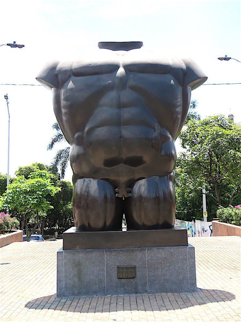 Torso Masculino (Male Torso), Botero 1994