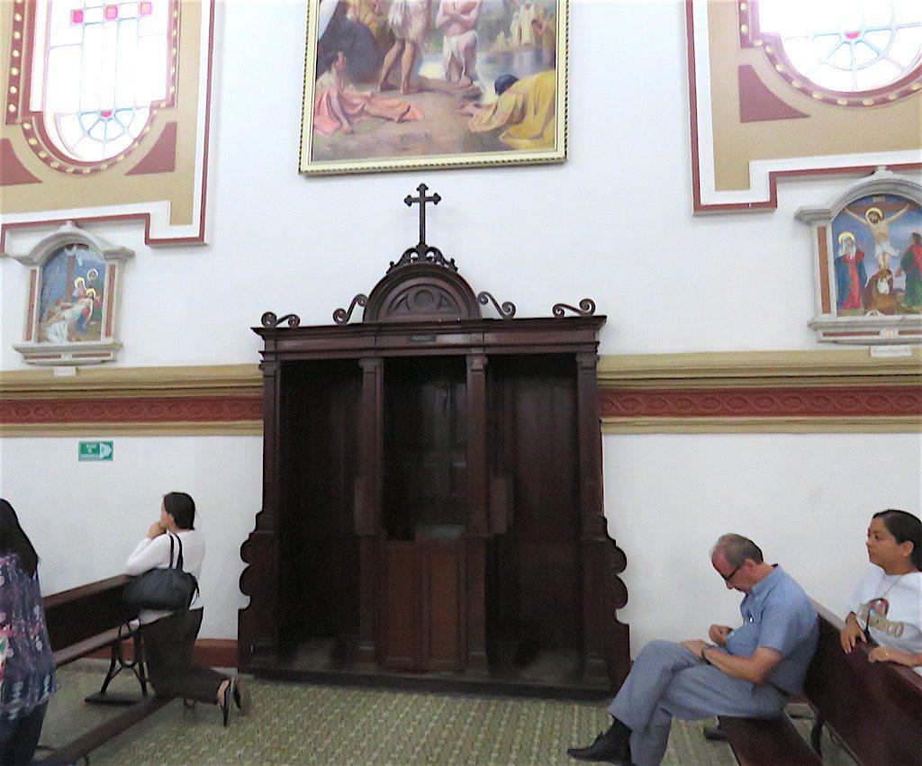 Confessionals in Iglesia de San José