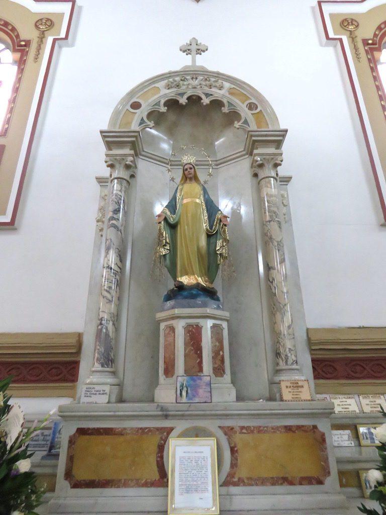 Religious artwork in Iglesia de San José