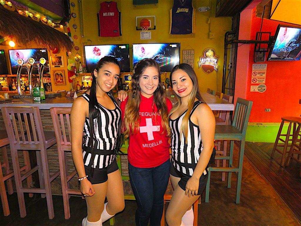 Waitresses at Randy's Beach Sports Bar & Grill