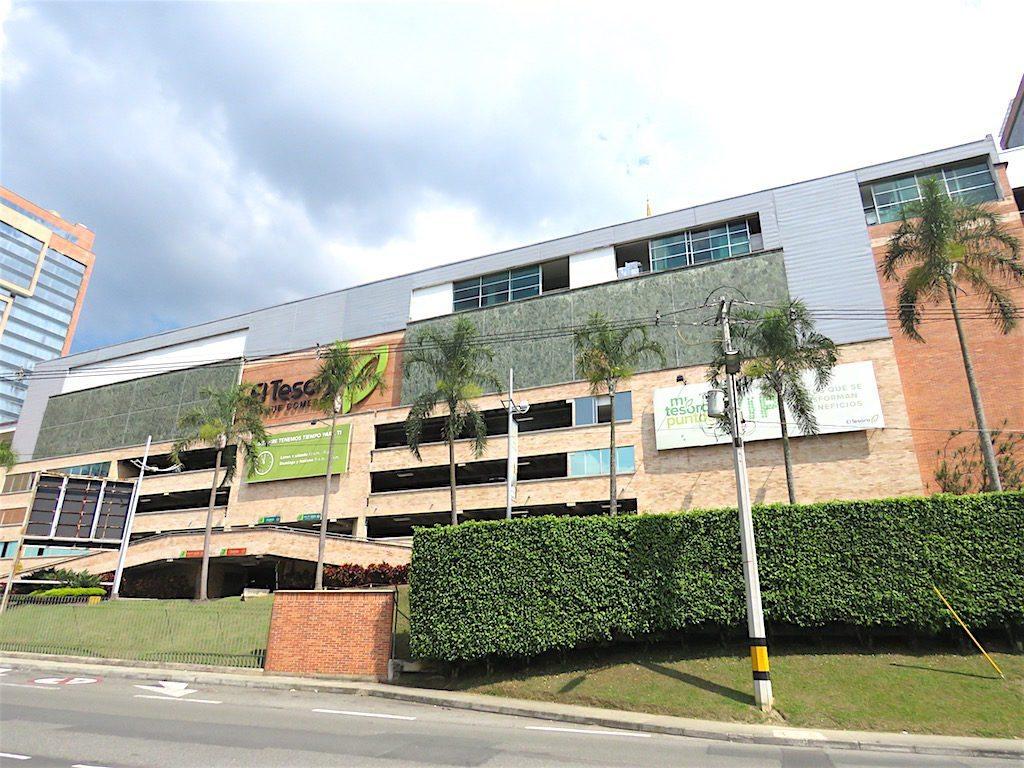 The El Tesoro mall in Medellín