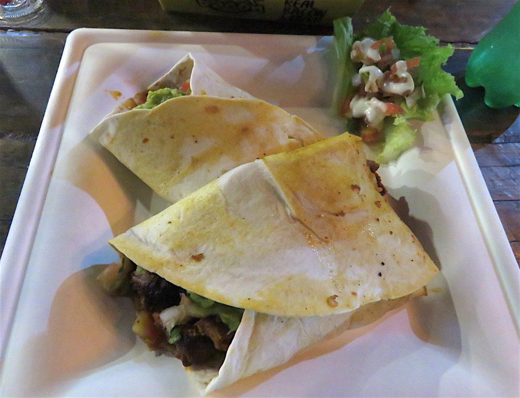 Pork burrito from Chilaquiles