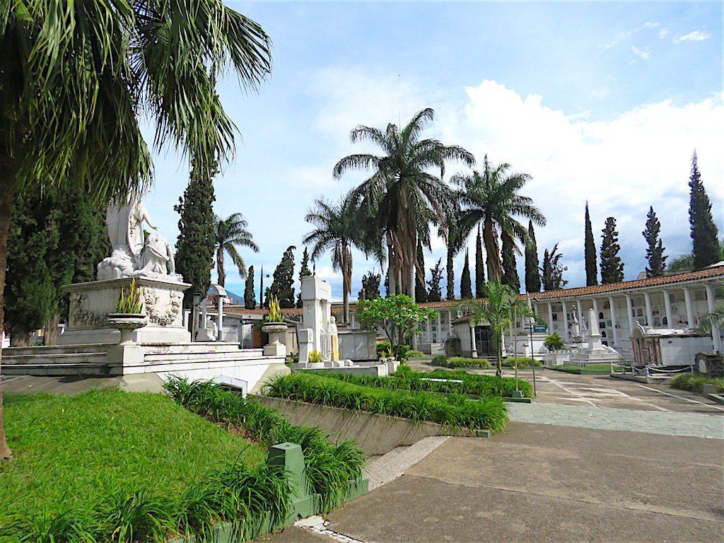 Inside Museo Cementerio San Pedro