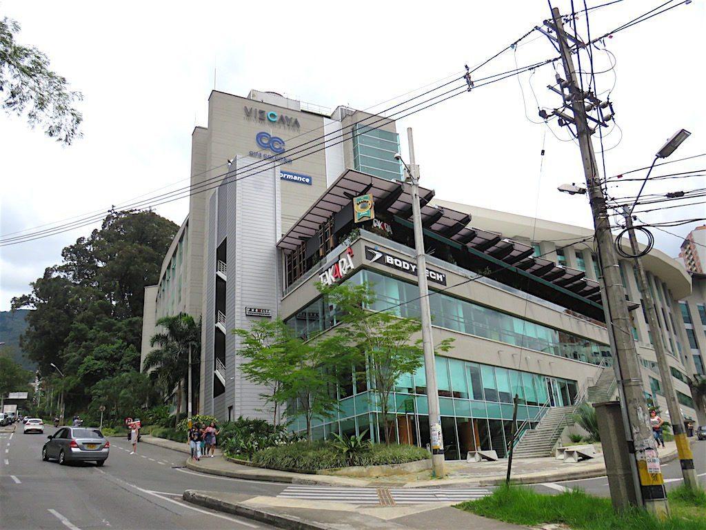 The Vizcaya mall in El Poblado in Medellín