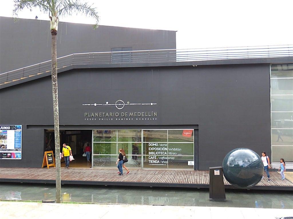 Entrance to Planetario de Medellín
