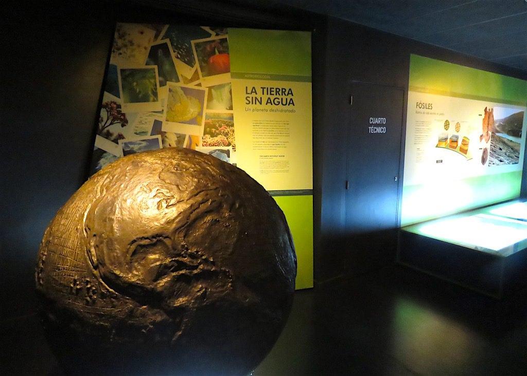 Inside Planetario de Medellín