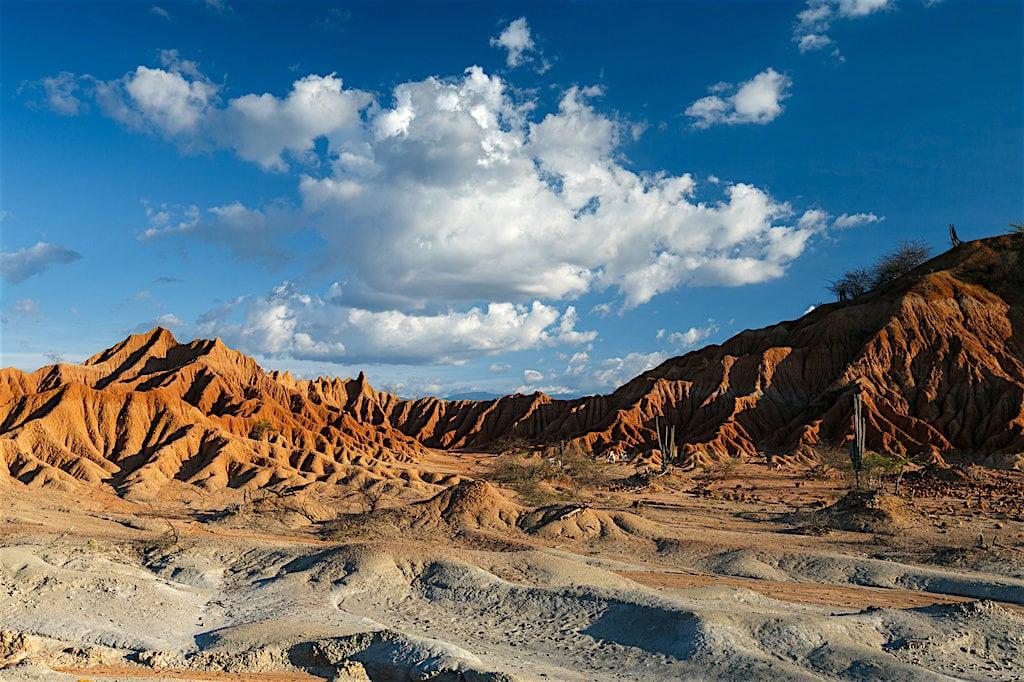 A Tatacoa Desert landscape