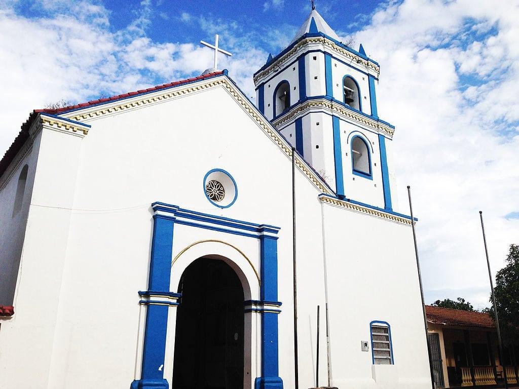 Iglesia Nuestra Señora Del Socorro in Villavieja, photo by Miguel Cardenas