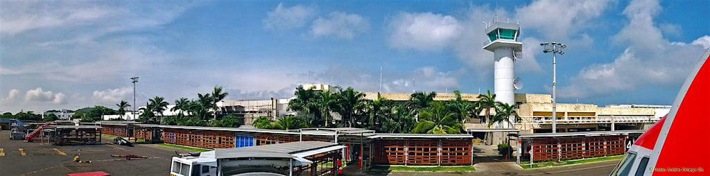 Panoramic view of Rafael Núñez Cartagena airport, photo by Pablo Andrés Ortega Chávez