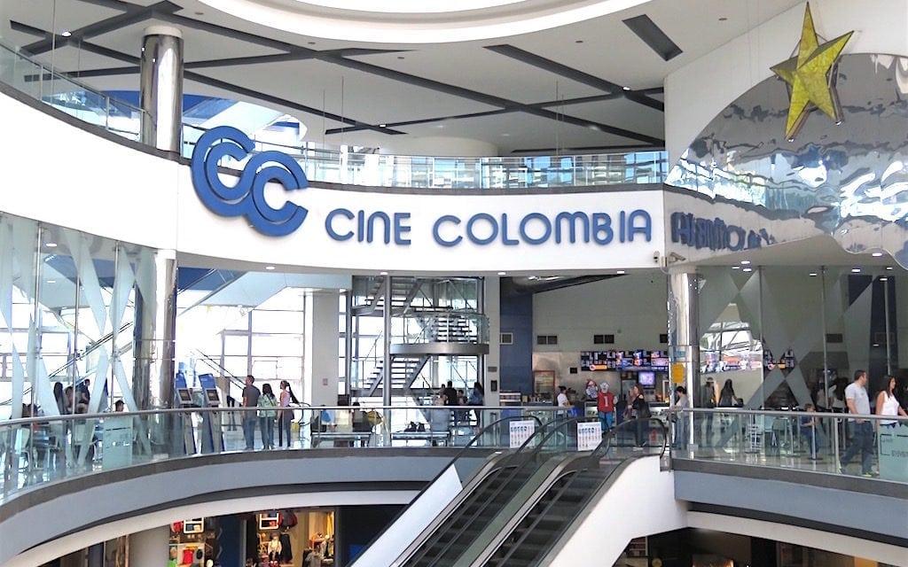 Cine Colombia in Oviedo Mall in El Poblado - All Cine Colombia movie theaters in Colombia are now closed
