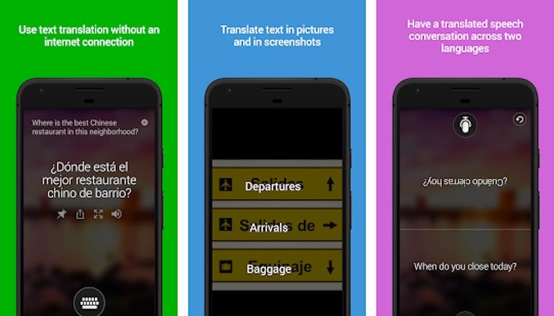 The Microsoft Translator App, courtesy of Microsoft