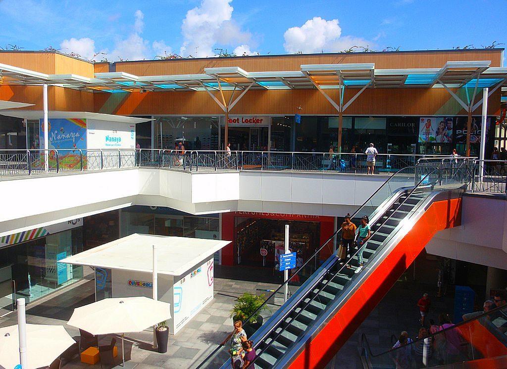 The Aqua Portimão mall in the Algarve, photo by Jose A.