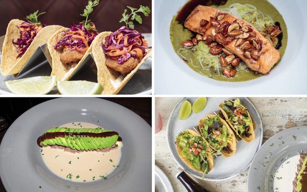 Food options at Delirio Exquisito, 3 photos are courtesy of Delirio Exquisito