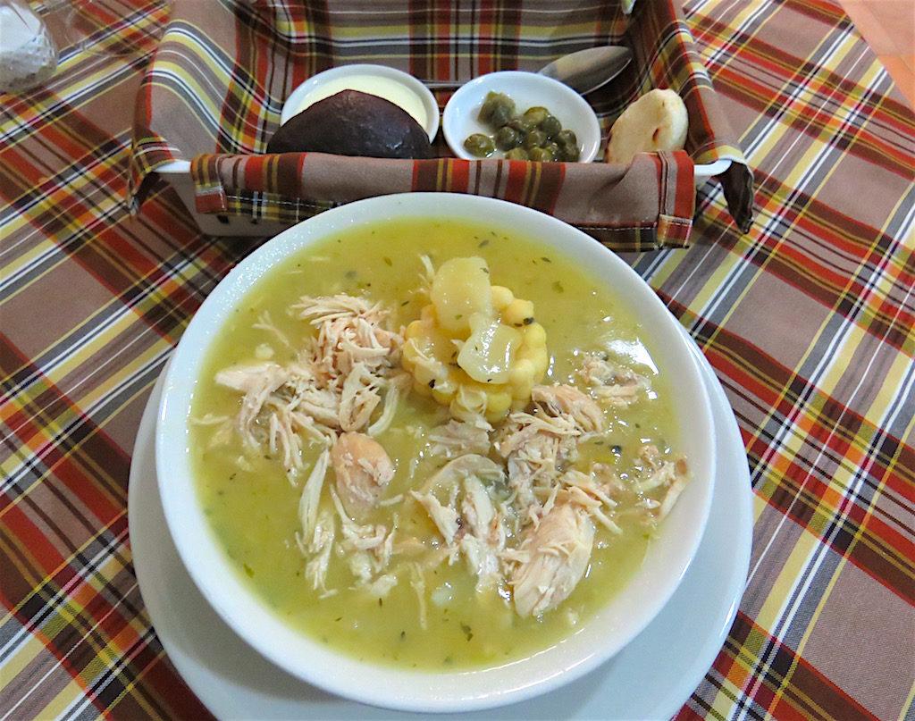 Ajiaco soup at Ajiacos y Mondongos