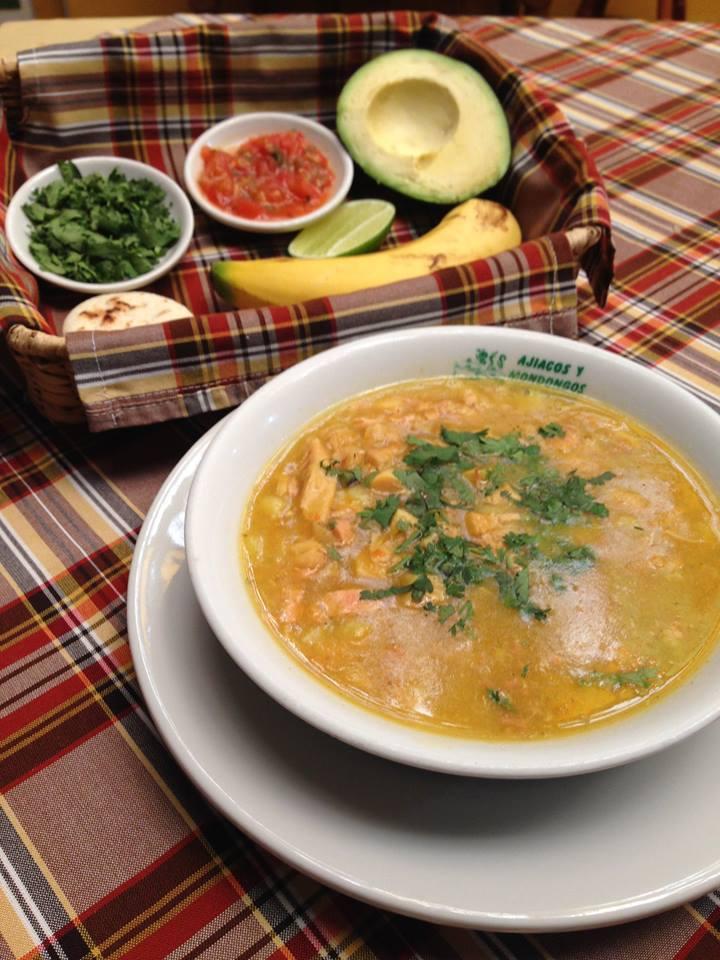 Mondongo soup, photo courtesy of Ajiacos y Mondongos