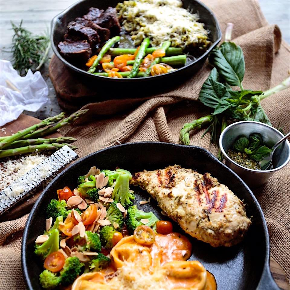 Dishes at Romero, photo courtesy of Romero Cocina Artesanal