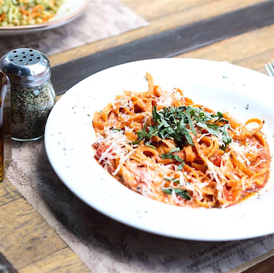 A pasta dish at Romero, photo courtesy of Romero Cocina Artesanal