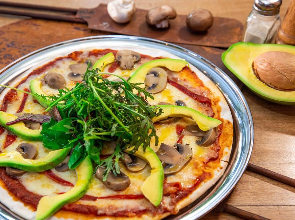 A pizza at Burro, photo courtesy of Burro Pizzeria