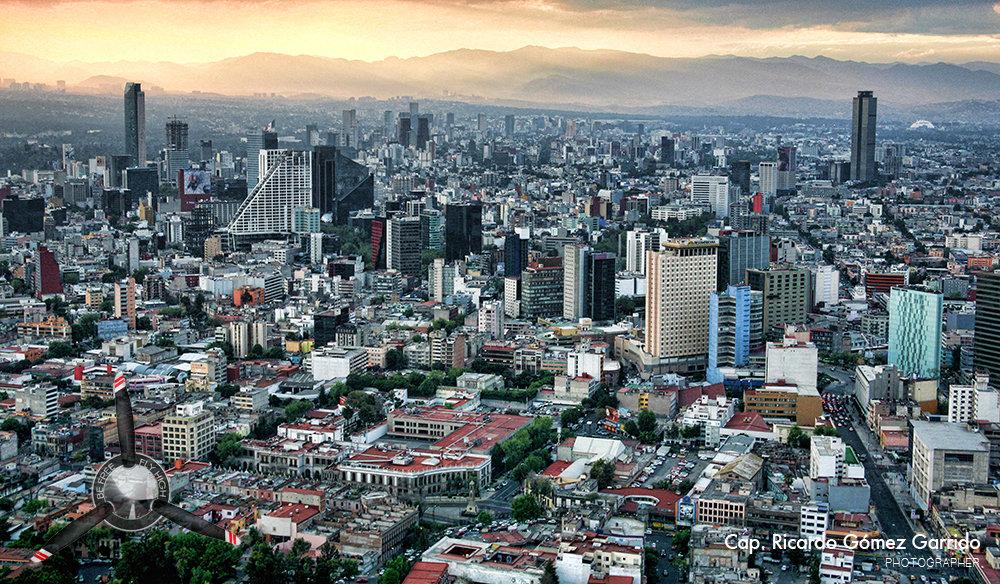 Mexico City, photo by Ricardo Gómez Garrido