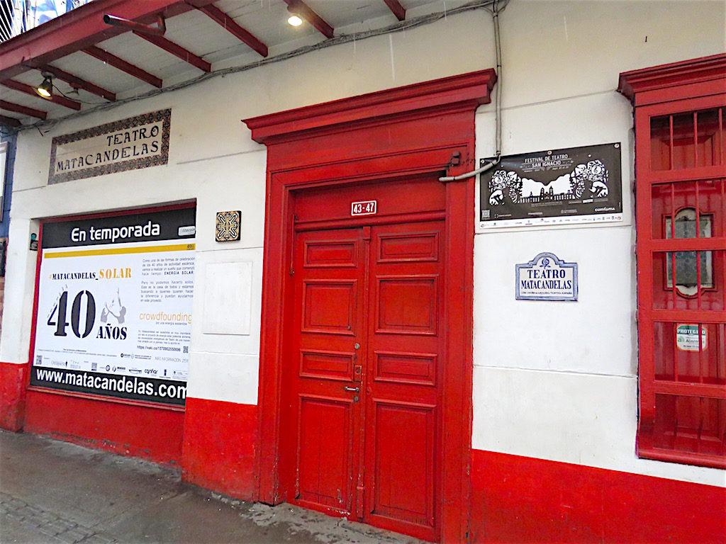 Teatro Matacandelas in Medellín