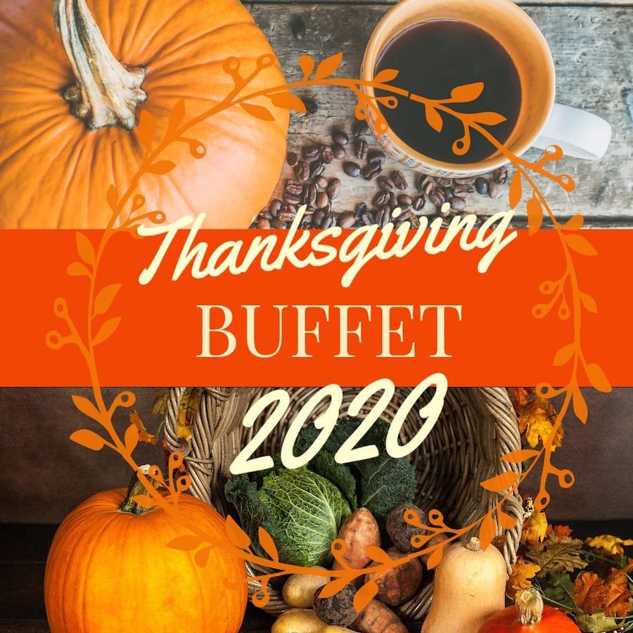 Thanksgiving Buffet, photo courtesy of Sweet Georgia Café