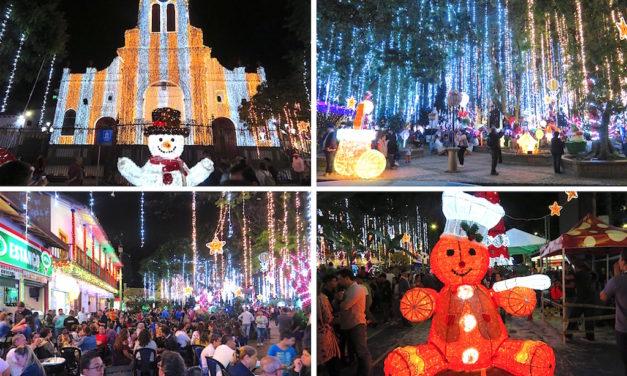 Alumbrados Sabaneta 2019: Photos of Christmas Lights in Sabaneta