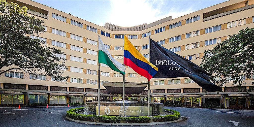 Hotel Intercontinental in Medellín, Photo courtesy of Hotel Intercontinental Medellín