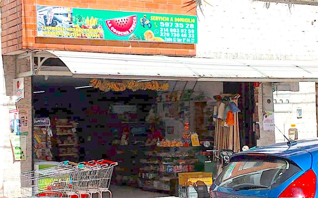 A small neighborhood tienda in Sabaneta selling groceries