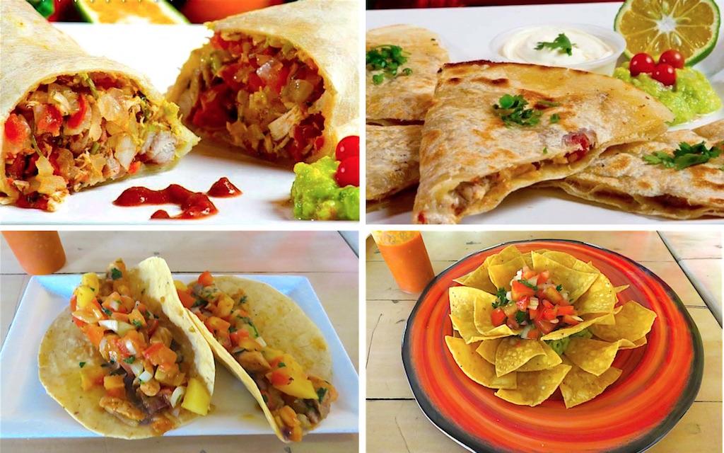 Food from Mi Pico E Gallo