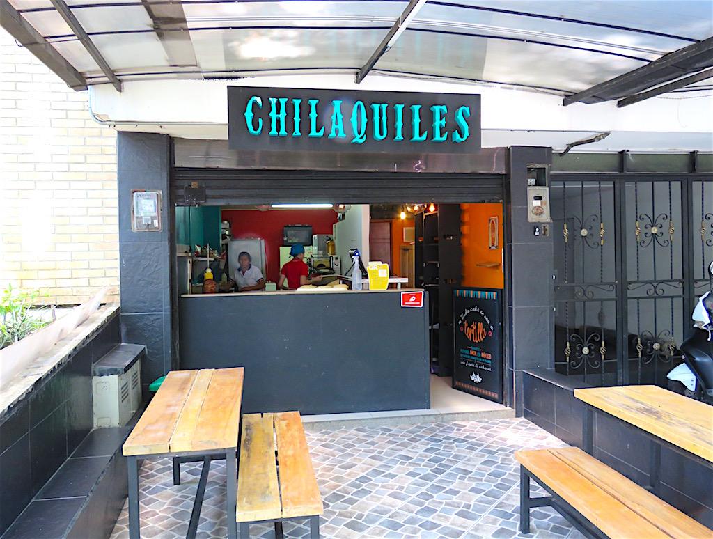 Chilaquiles restaurant in Laureles-Estadio
