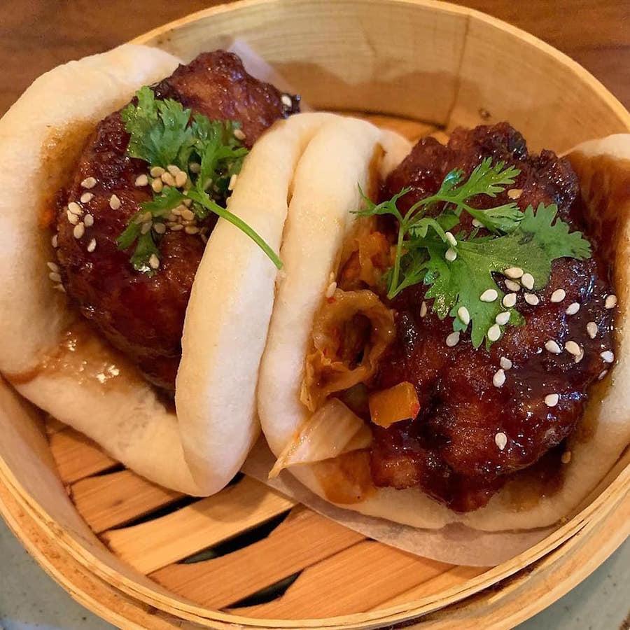 KFC (Korean Fried Chicken) Bao, photo courtesy of Bao Bai
