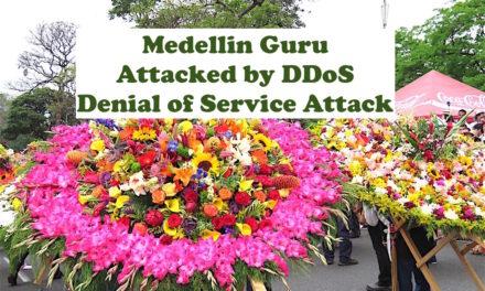 DDoS Attack: Medellin Guru Site Attacked by Denial of Service Attack