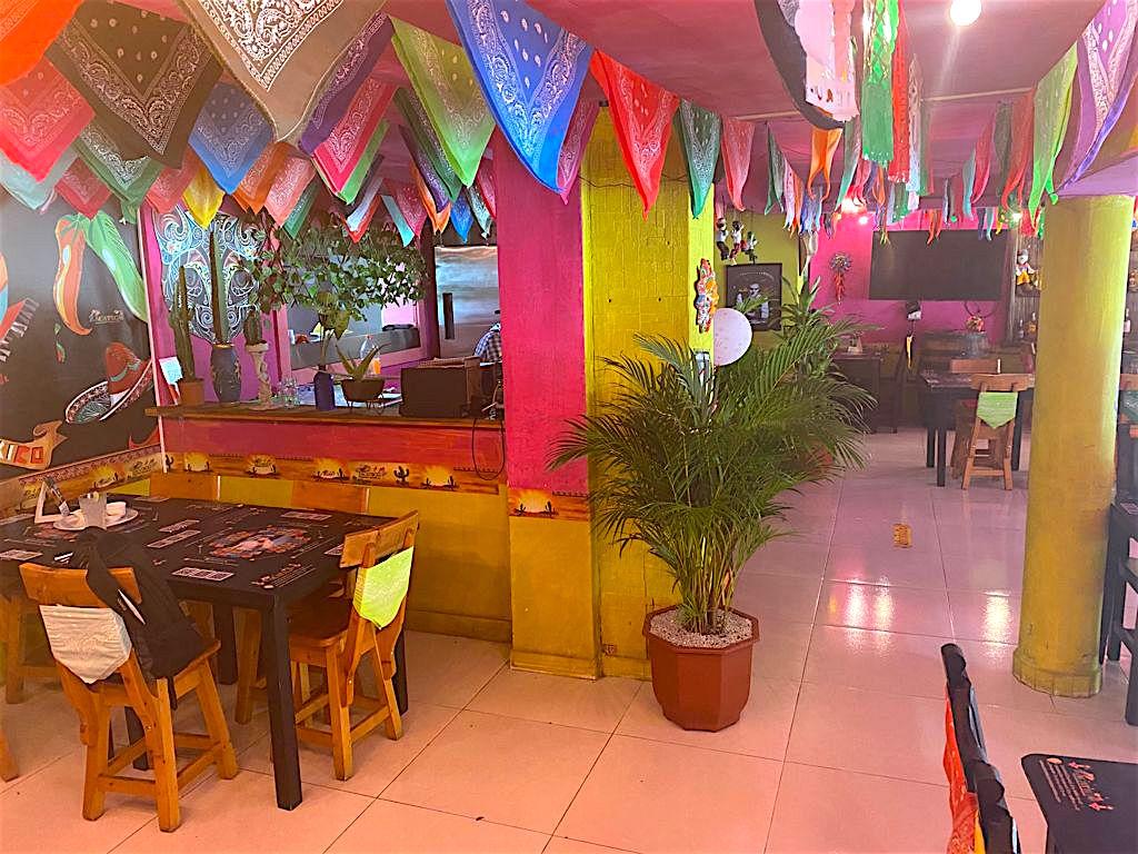 Inside Zacatecas in Laureles, Carrera 66b location