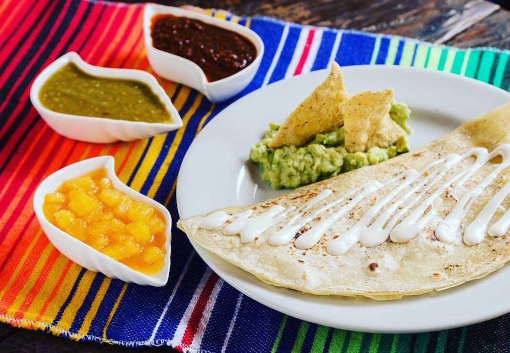Quesadilla, photo courtesy of Zacatecas