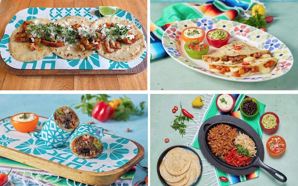 Some of the food options at Wajaca, 3 photos courtesy of Wajaca